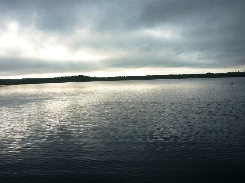 P1020206 Озеро на закате дня